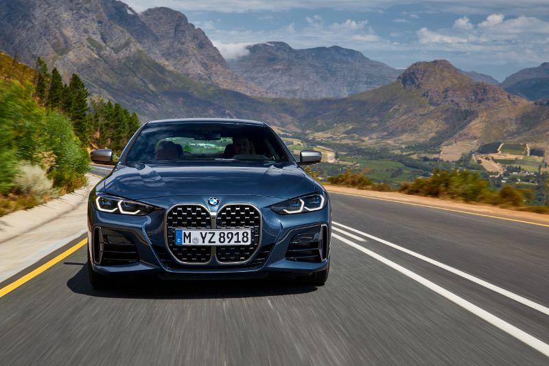 Nouvelle calandre de la BMW Série 4 Coupé