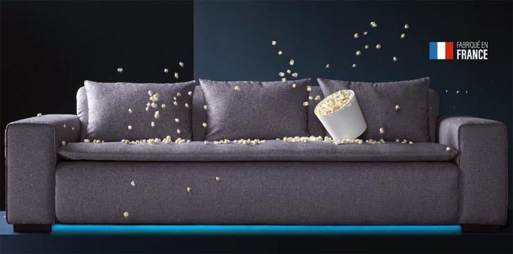 Miliboo : le premier canapé connecté au monde