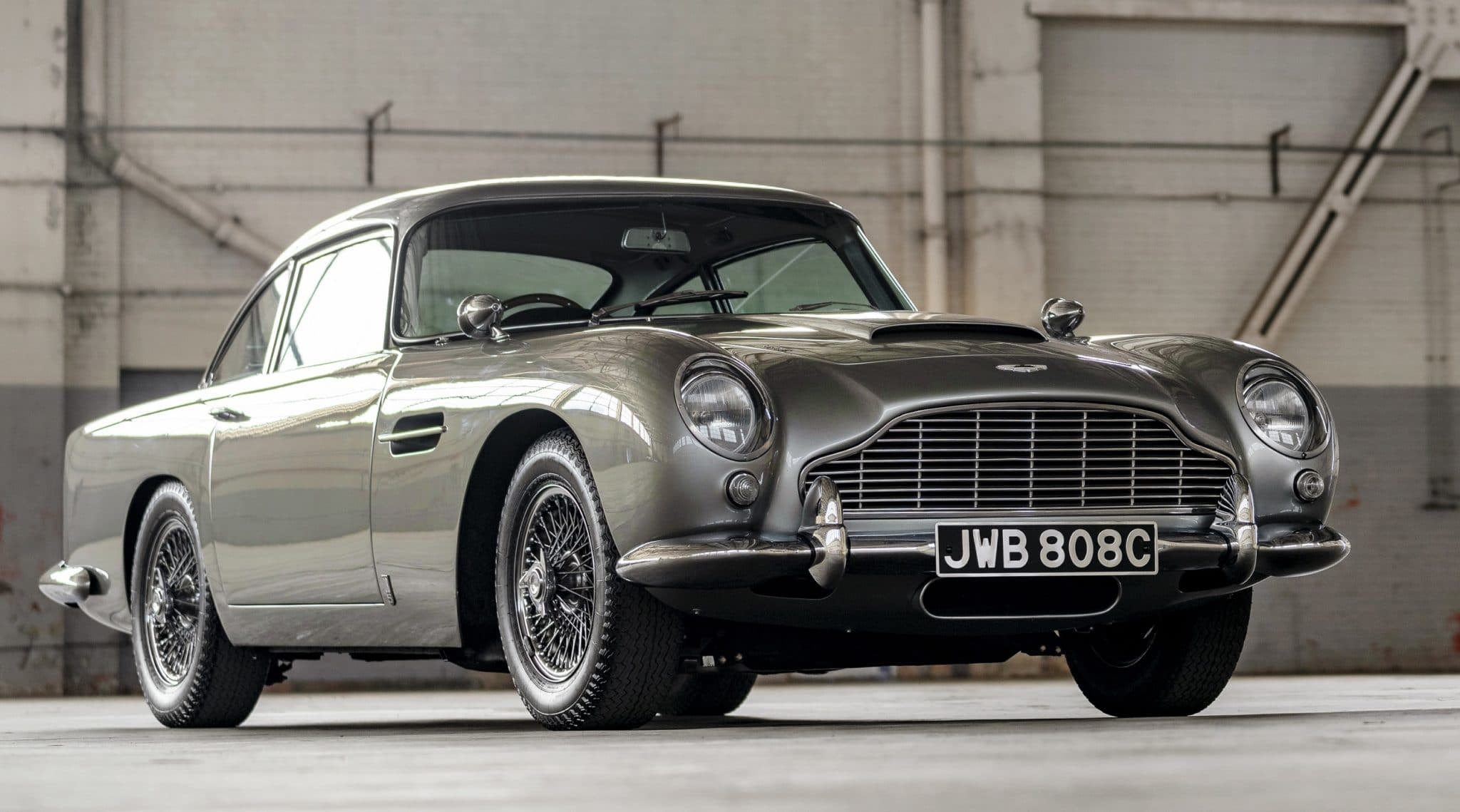 Plus belles voitures du monde - Aston Martin DB5
