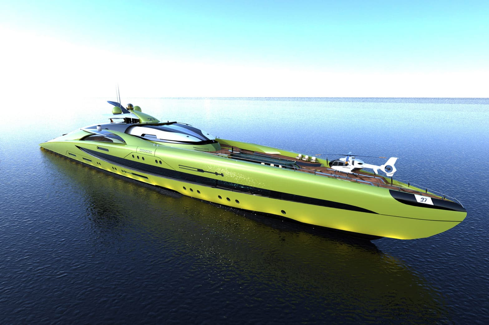 Crescere Yacht Concept