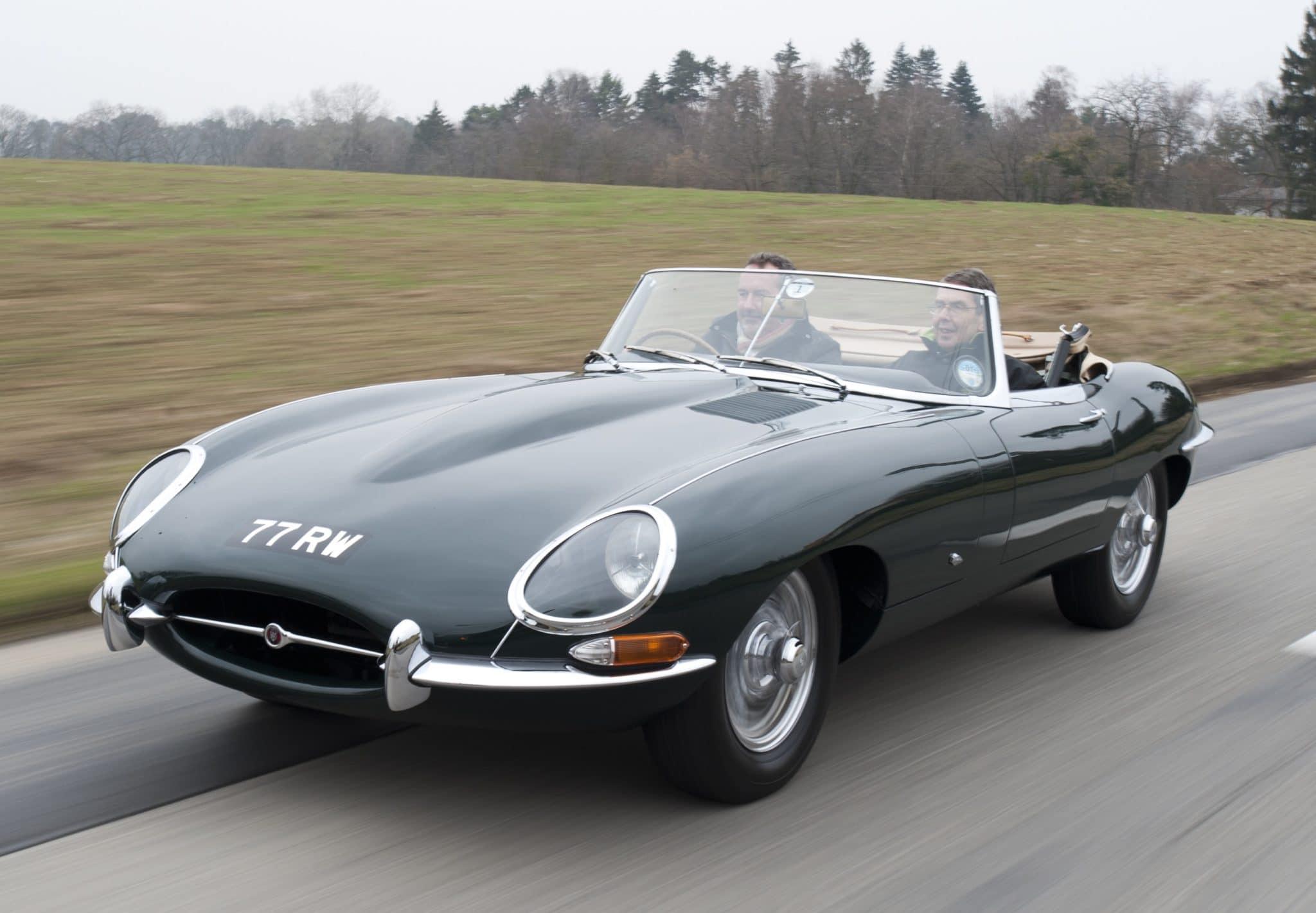 Plus belles voitures du monde - Jaguar Type E 1961