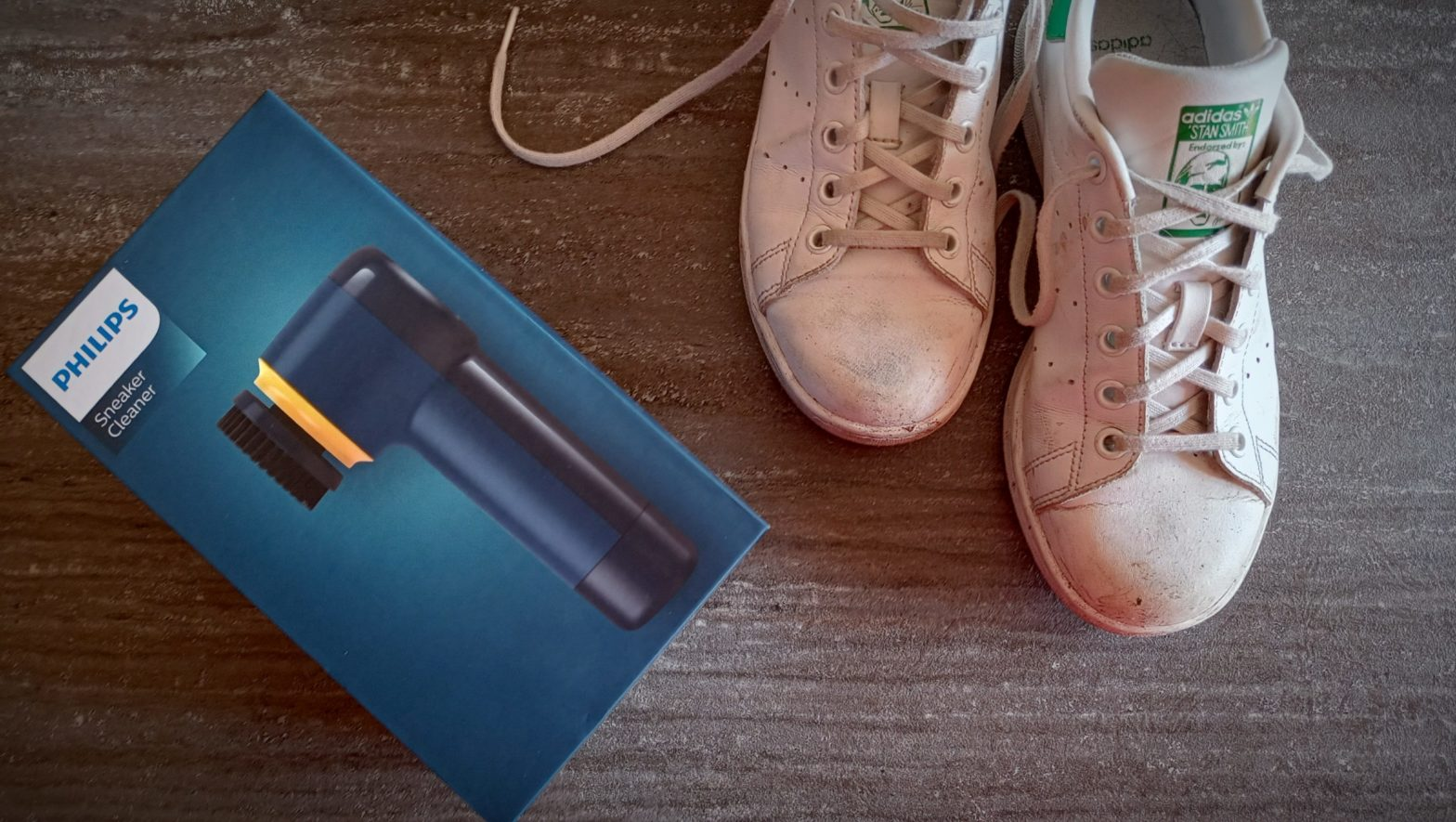 Review Philips Sneaker Cleaner