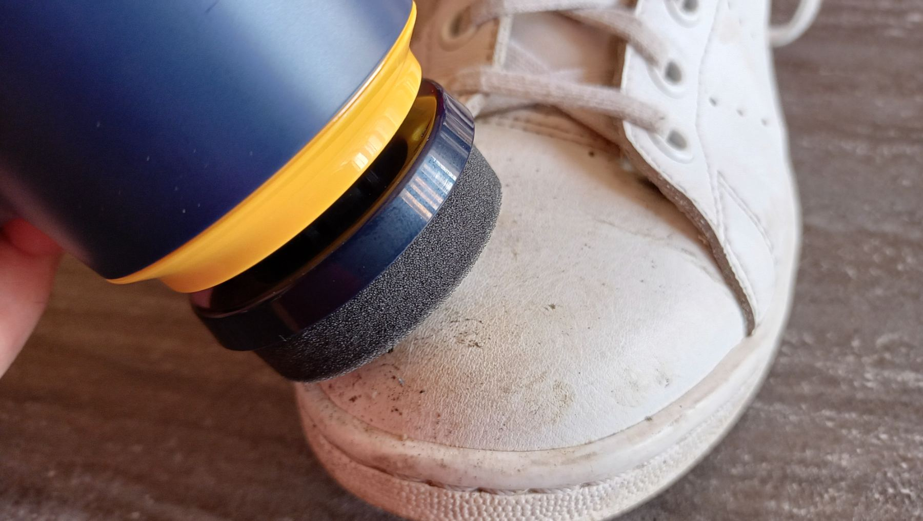 Sneakers Cleaner Philips - test sur Stan Smith