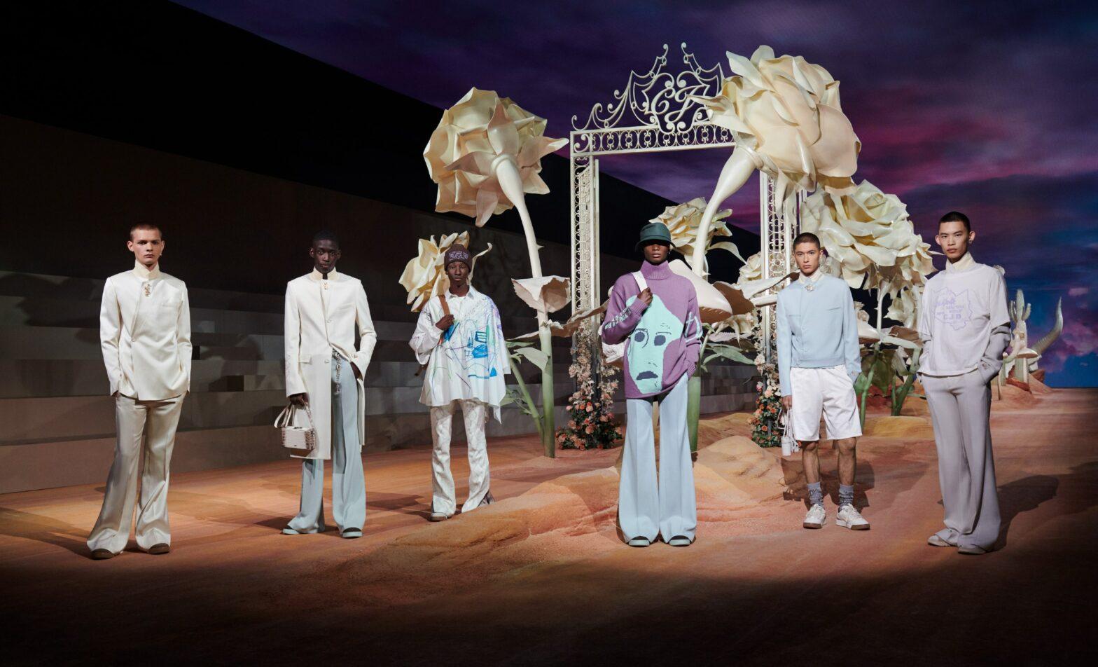 Défilé Dior Homme 2022