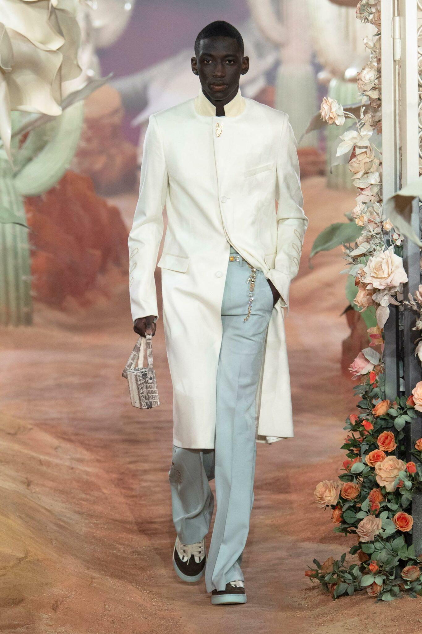 Défilé Dior Homme printemps-été 2022
