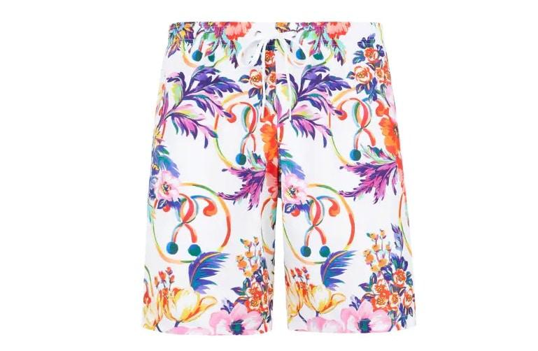 Maillots de bain homme 2021 - Short à fleur Moschino