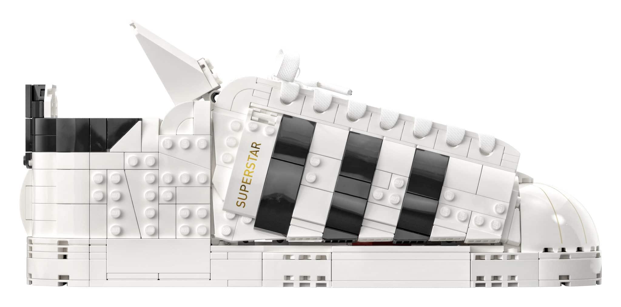 Set Adidas LEGO Superstar 10282