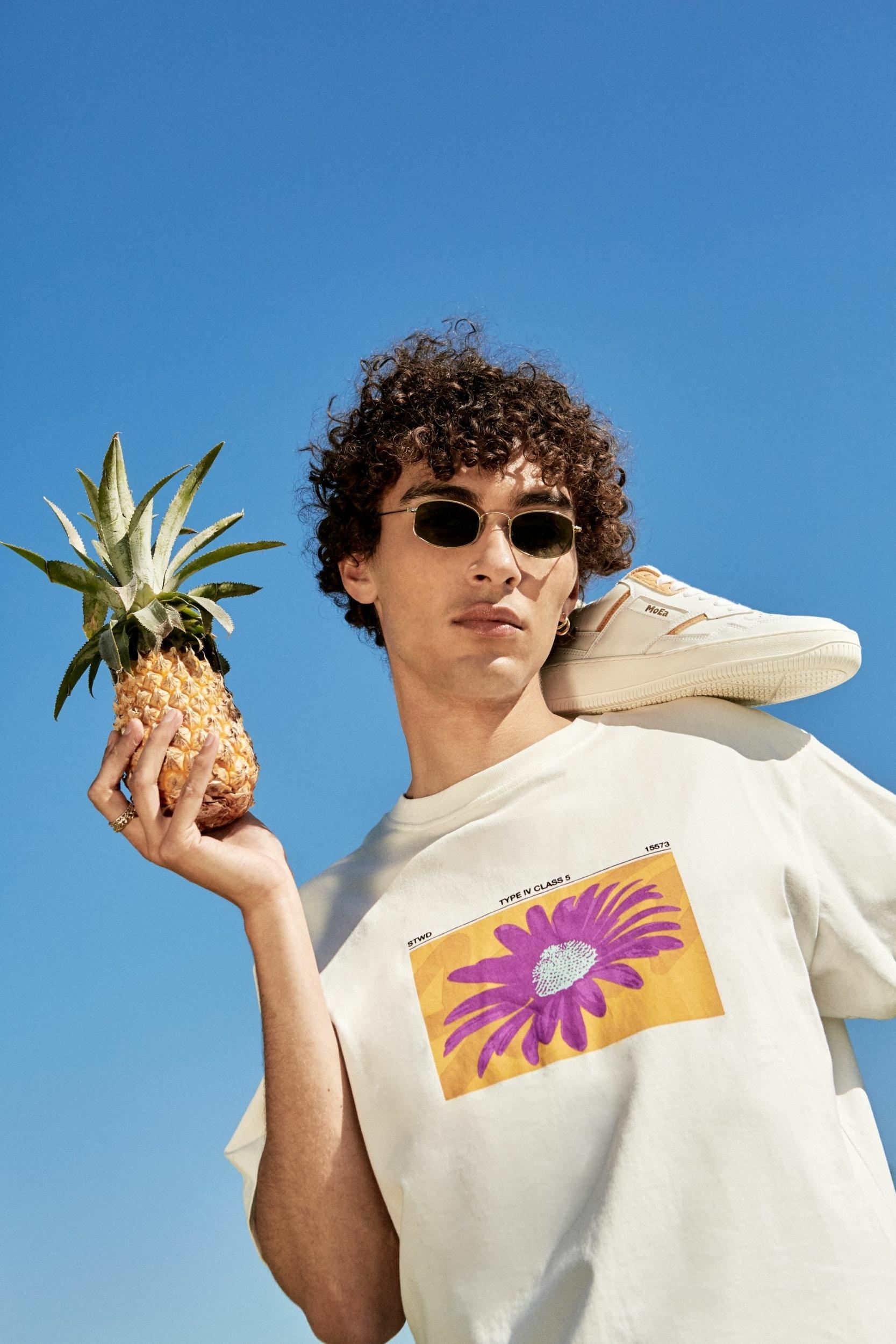 Sneakers MoEa en cuir d'ananas