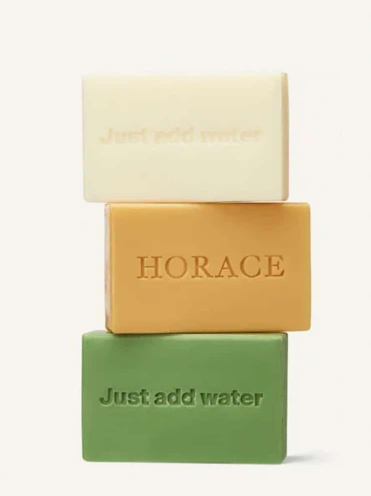 Pains de savon surgras Horace