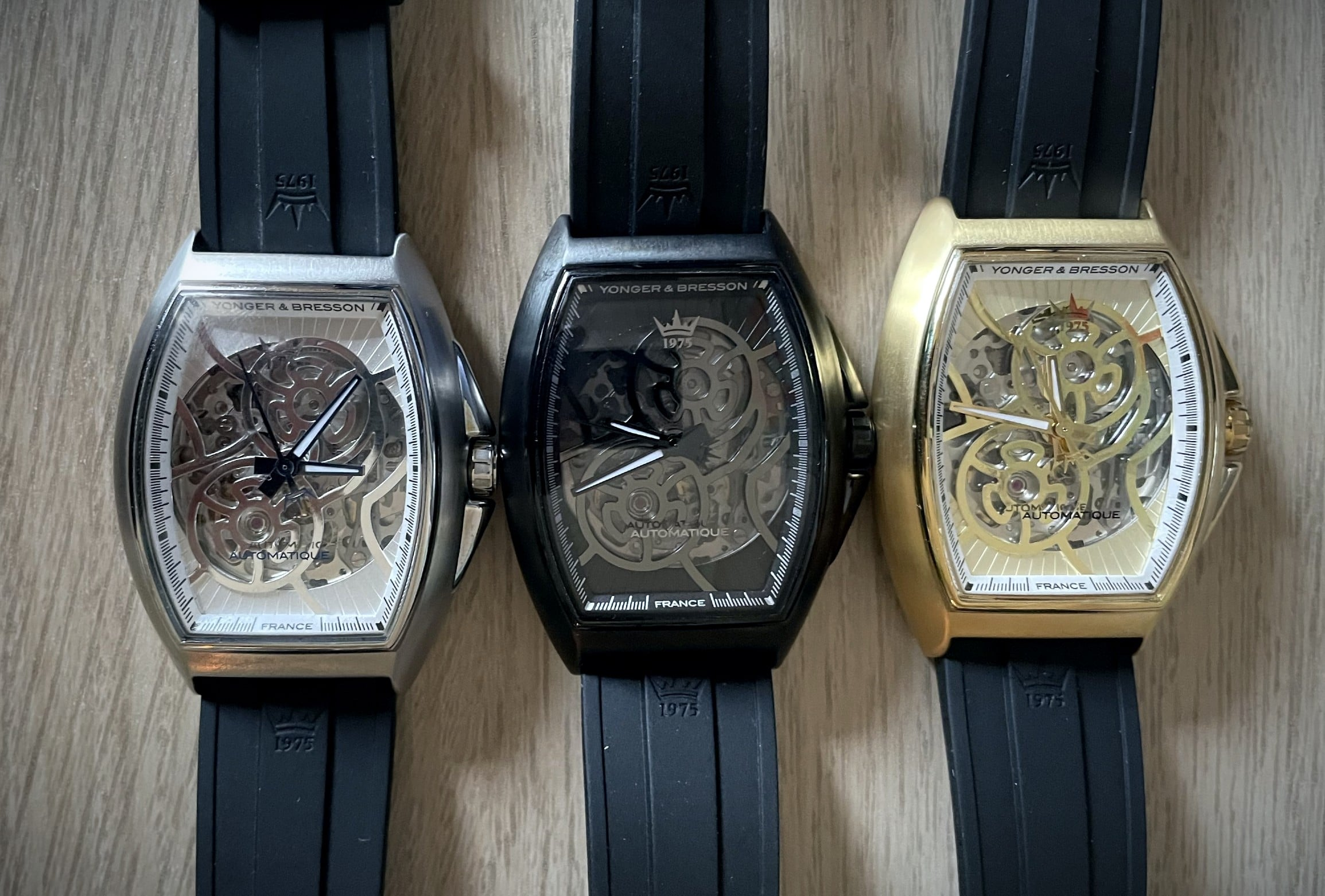 Trois nouvelles montres Yonger & Bresson Le Singulier