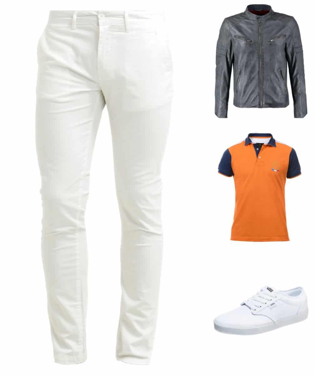 Comment porter un pantalon blanc ?