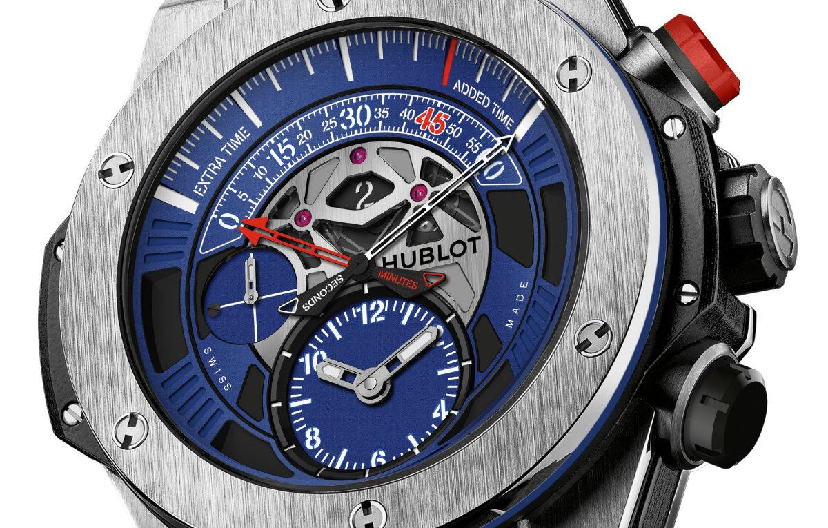nouveau style 13c12 6a1e8 Hublot dévoile sa nouvelle montre de luxe aux couleurs du ...