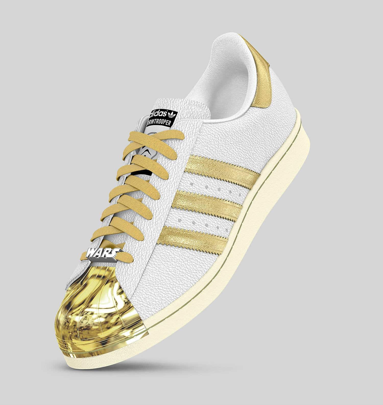 Des baskets Adidas personnalisables aux couleurs de Star
