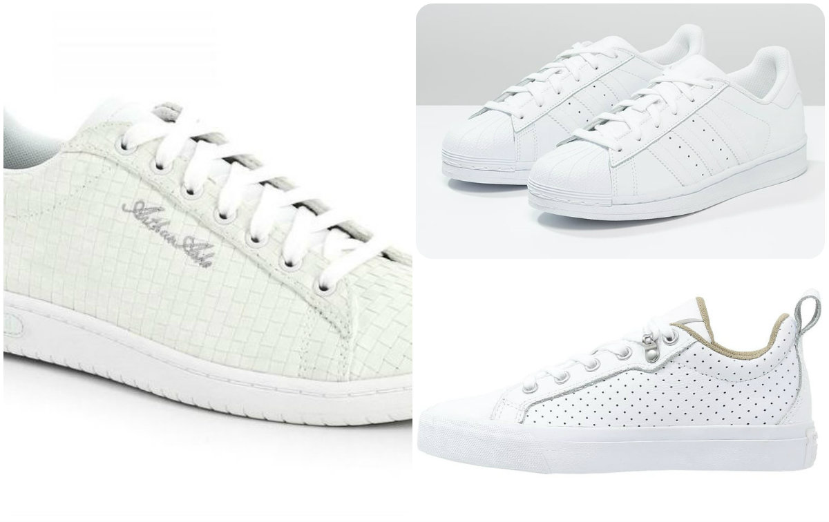 10 baskets blanches au top !!! | Basket | Baskets blanches