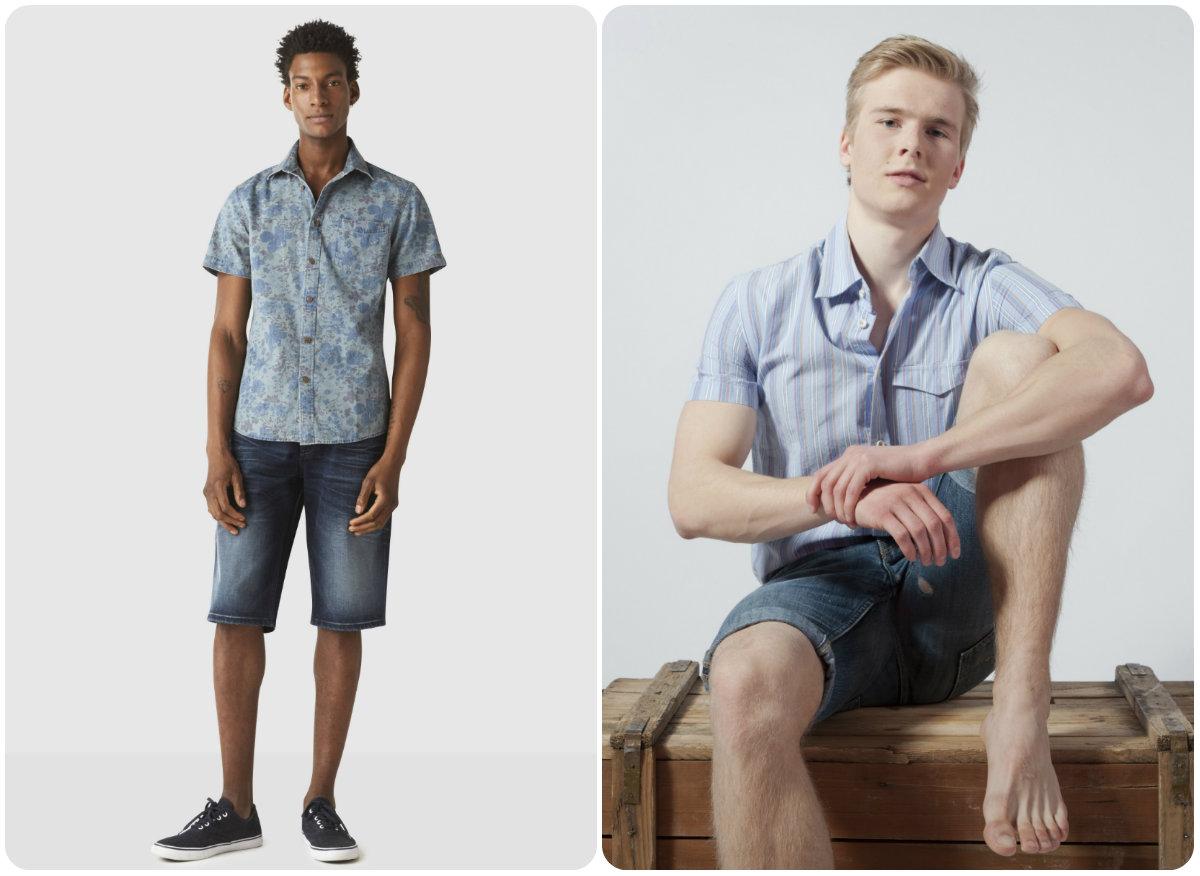 Avoir du style avec une chemise et un short
