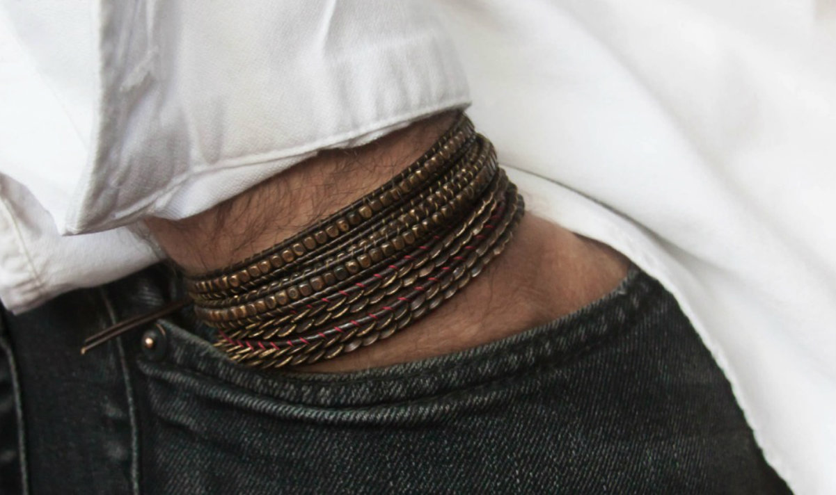 plus récent ae9ad e53cc Casteld réinvente les bijoux pour les hommes | Masculin.com