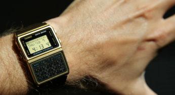 Casio ressort la montre de Marty dans Retour Vers le Futur  7PTER