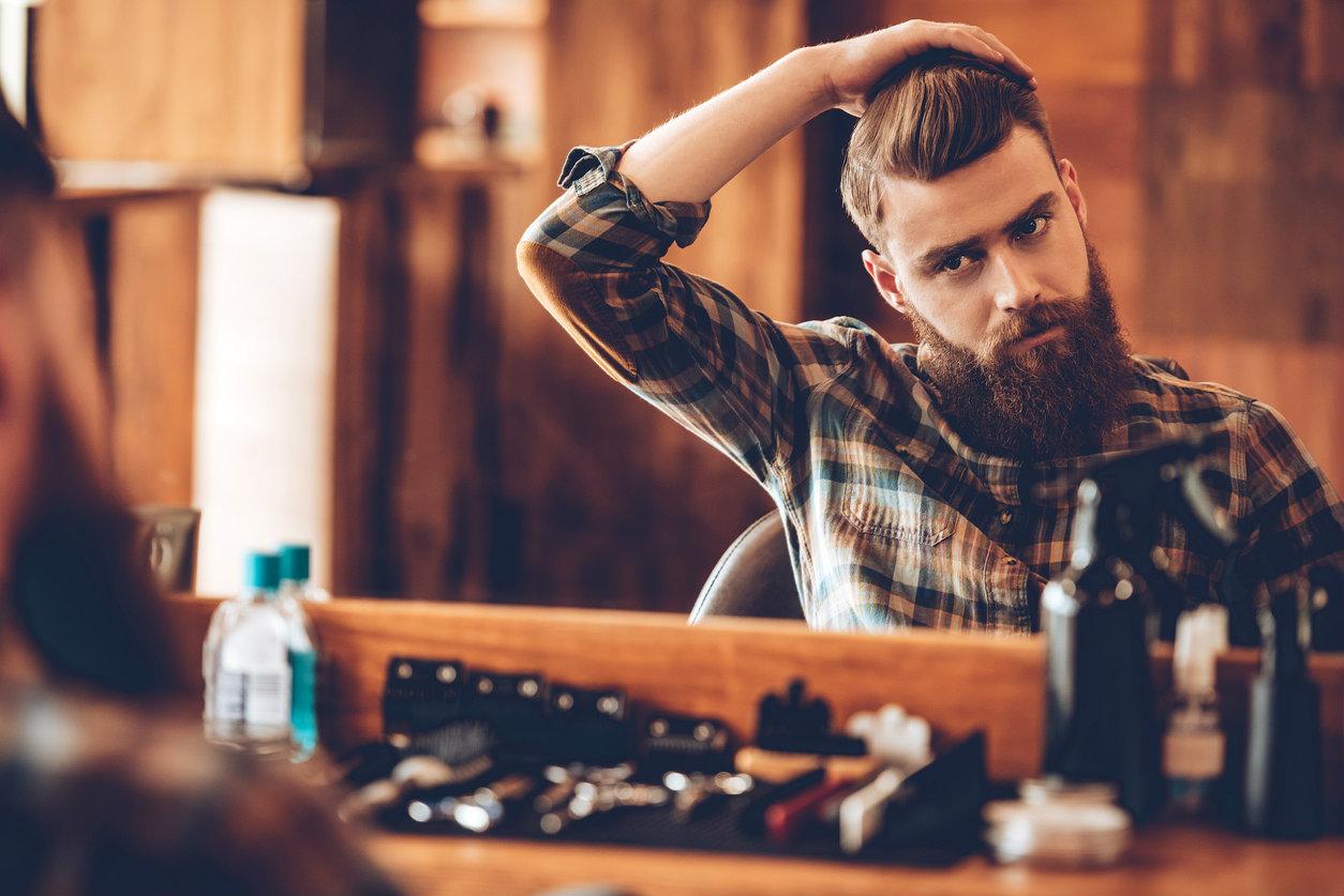 Coiffure pour hommes rasГ© whisky et nuque