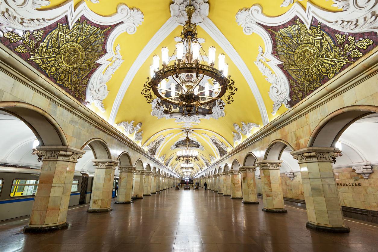 Les plus belles stations de métro du monde