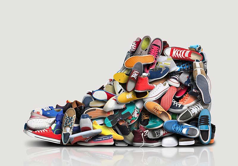 Les chaussures font l'homme mais aussi la femme  