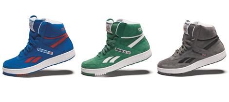 reebok sneakers montante homme
