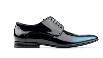 59e7ccd2c890 Ce n'est pas le traitement verni de ces chaussures Hugo Boss qui empêchera  une usure rapide
