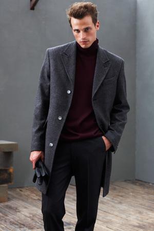 manteau laine homme noir hm 129 euros